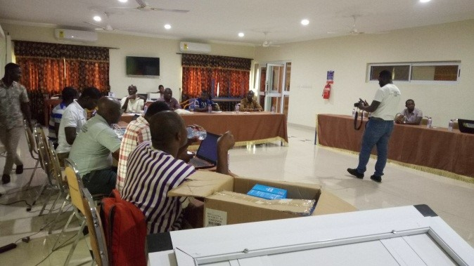 Civil Society-led Independent Forest Monitoring (CSIFM) – Real Time Monitoring (RTM) Training Workshop in Kumasi